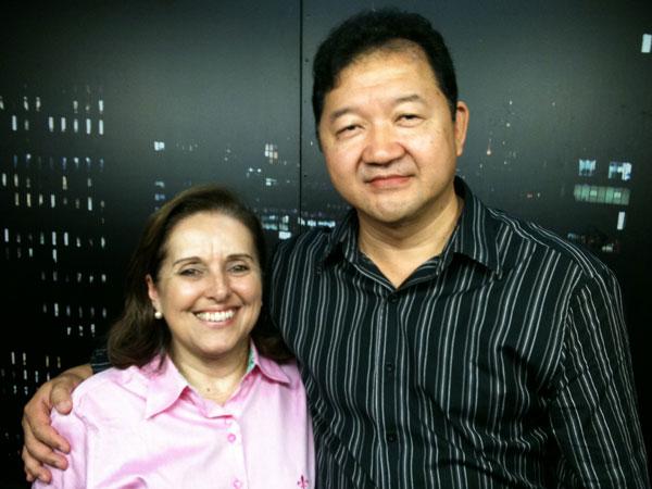 Miriam Garrido em entrevista no programa Tv Call Center.