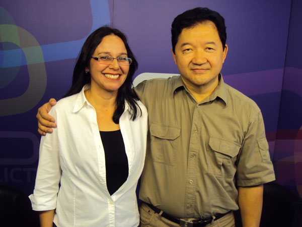 Juanarrita Sebin na TV Call Center