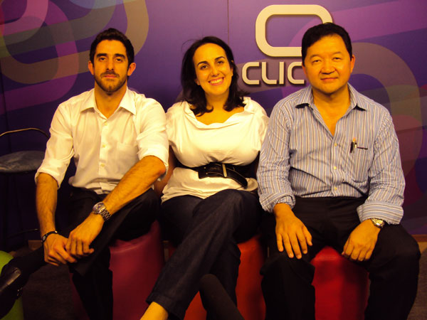 Karin Campos, Ricardo Castro e Kendi Sakamoto