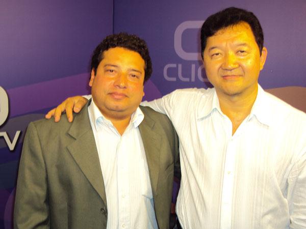 Welson Campos e Kendi Sakamoto