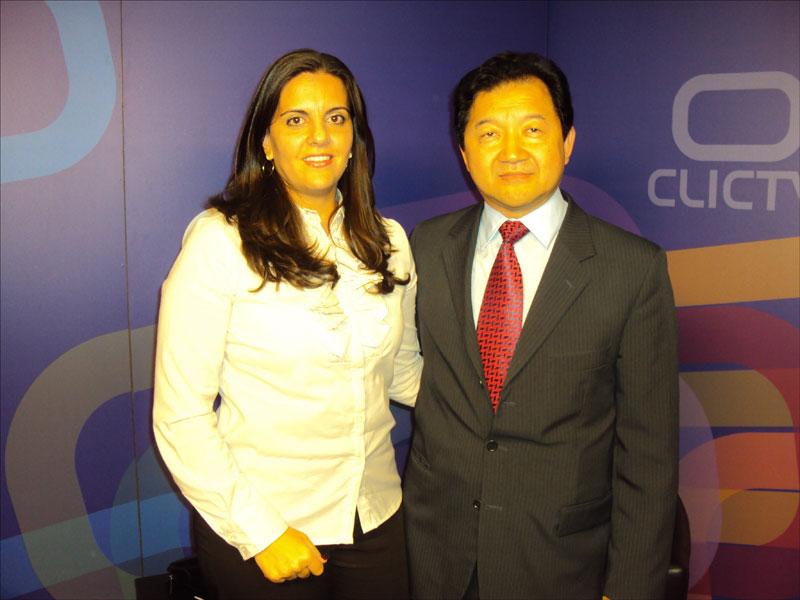 Carolita Vasconcelos da Fisiolider na Tv Call Center