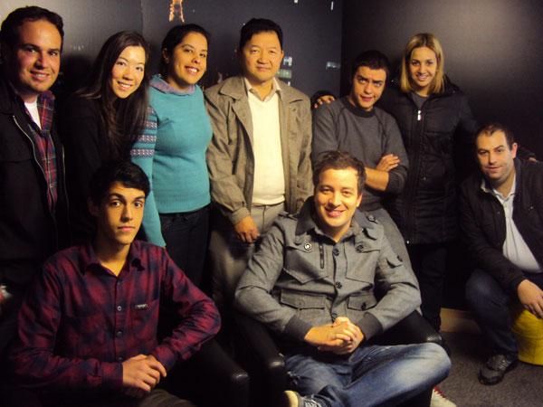 Equipe daTV Call Center com Rafael Cortez