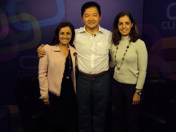 Participação da Univoz na Tv Call Center, com Ana Elisa e Angela Ferreira